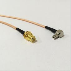 Пигтейл, адаптер TS9 - SMA мама для USB 3G/4G модемов Huawei и ZTE