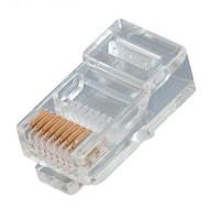 Разъем для компьютерных сетей RG 45 PET 8P8C Cat5e