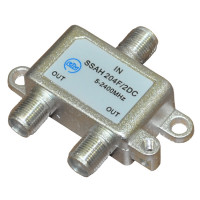 RTM SSAH-204F/2DC сплиттер, делитель на 2 выхода