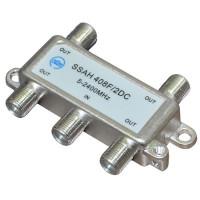 RTM SSAH-408F/2DC сплиттер, делитель на 4 выхода