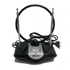 General Satellite AV-958 DVB-T2 Комнатная всеволновая телевизионная (FM/VHF/UHF) ТВ антенна с усилителем