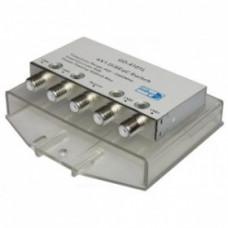 DiSEqC-переключатель GD-4101L 4x1 2.0 в пластиковом чехле