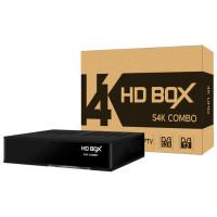 HD BOX S4K Combo комбинированный ресивер DVB-S2/T2/C (ЭйчДи Бокс)