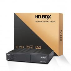 HD BOX S500 CI Pro комбинированный ресивер DVB-S2/T2/C (ЭйчДи Бокс)