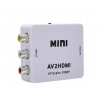 Конвертер-переходник из AV 3RCA (тюльпаны) в HDMI / AV2HDMI
