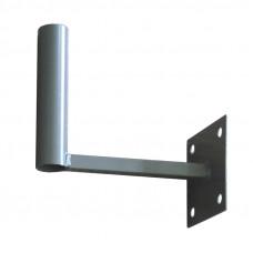 Кронштейн стеновой для внешней антенны Г-образный 145мм вынос
