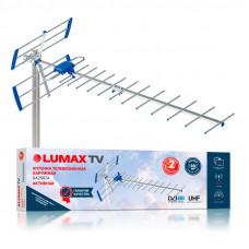 Lumax DA2507A DVB-T/T2 Наружная активная телевизионная ДМВ (UHF) антенна