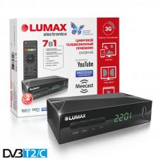 Lumax DV-2201HD DVB-T/T2/С Цифровой эфирный / кабельный приемник
