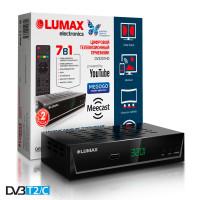 Lumax DV-3201HD DVB-T/T2/C Цифровой эфирный кабельный приемник, приставка, ресивер