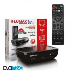 Lumax DV-1110HD DVB-T/T2/С Цифровой эфирный / кабельный приемник с обучаемым пультом ДУ