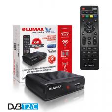 Lumax DV-1111HD DVB-T/T2/C Цифровой эфирный / кабельный приемник с обучаемым пультом ДУ