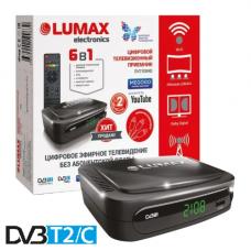 Lumax DV-2108HD DVB-T/T2/C Цифровой эфирный / кабельный приемник, приставка, ресивер