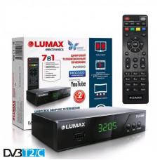 Lumax DV-3205HD DVB-T/T2/C Цифровой эфирный кабельный приемник с обучаемым пультом ДУ