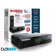 Lumax DV-3205HD DVB-T/T2/C Цифровой эфирный кабельный приемник, приставка, ресивер
