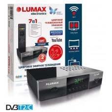 Lumax DV-3211HD DVB-T/T2/C Цифровой эфирный кабельный приемник, приставка, ресивер