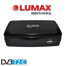 Lumax DVBT2-555HD DVB-T/T2/C Цифровой эфирный / кабельный приемник