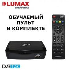 Lumax DVBT2-555HD DVB-T/T2/C Цифровой эфирный / кабельный приемник с обучаемым пультом ДУ