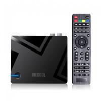 MECOOL K5 DVB-T2/S2/C гибридный медиаплеер AndroidTV 9 / 2Gb/16Gb
