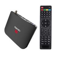 MECOOL M8S Plus DVB-S2 гибридный медиаплеер AndroidTV 9 / 2Gb/16Gb