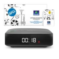 NTV PLUS HD J1 Спутниковый ресивер с картой доступа НТВ,Плюс Запад 199
