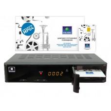 NTV PLUS 1HD VA Спутниковый ресивер с картой доступа НТВ,Плюс 1200