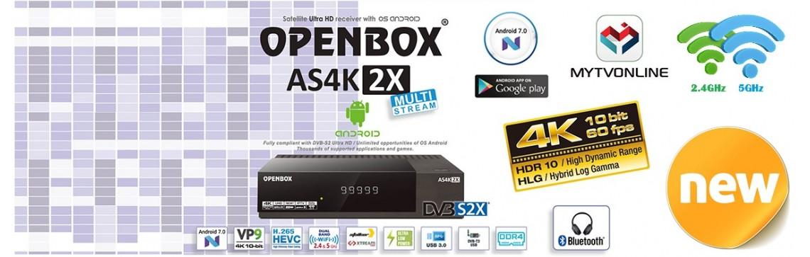 Openbox AS 4K 2X