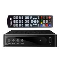 Oriel 403D DVB-T/T2/C Цифровой эфирный / кабельный приемник c обучаемым пультом U6