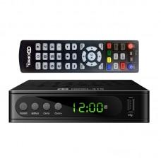 Oriel 415D DVB-T/T2/C Цифровой эфирный / кабельный приемник c обучаемым пультом U6