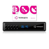 EVO 09 HD приемник Телекарта кодировка Conax с картой доступа Вездеход