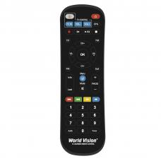Пульт ДУ World Vision Обучаемый для DVB-T2/C приемников, приставок, ресиверов