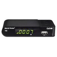 World Vision T65 DVB-T2 Цифровой эфирный приемник, приставка, ресивер