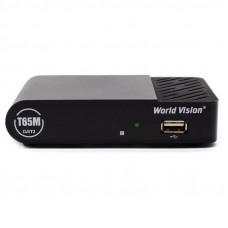 World Vision T65M DVB-T2 Цифровой эфирный приемник, приставка, ресивер