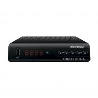 World Vision Foros Ultra DVB-T2/C/S2 Цифровой спутниковый / эфирный / кабельный приемник, приставка, ресивер