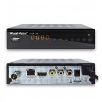 World Vision T62A LAN LE DVB-T/T2/C Цифровой эфирный / кабельный приемник с обучаемым пультом ДУ