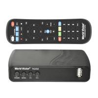 World Vision T62D2 DVB-T/T2/C Цифровой эфирный / кабельный приемник с обучаемым пультом ДУ