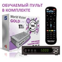 World Vision T64D DVB-T/T2/C Цифровой эфирный / кабельный приемник с обучаемым пультом ДУ