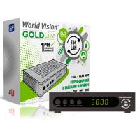 World Vision T64LAN DVB-T/T2/C Цифровой эфирный / кабельный приемник, приставка, ресивер